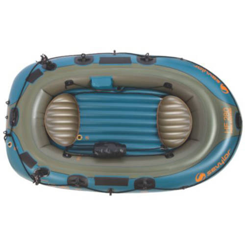 Sevylor 4-Person Fish Hunt Inflatable Boat with Berk by COLEMAN