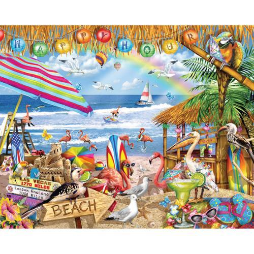 "Jigsaw Puzzle 1000 Pieces 24""X30""-Happy Hour"