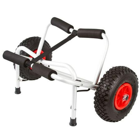 - Portable Folding Kayak or Canoe Carrier Dolly Cart