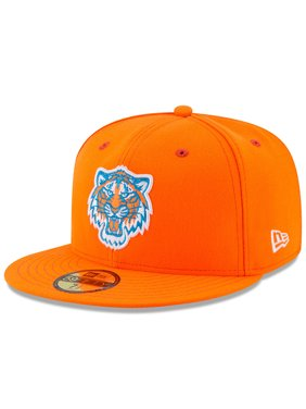 watch 9ae15 677d9 Product Image Detroit Tigers New Era Youth 2017 Players Weekend 59FIFTY  Fitted Hat - Orange