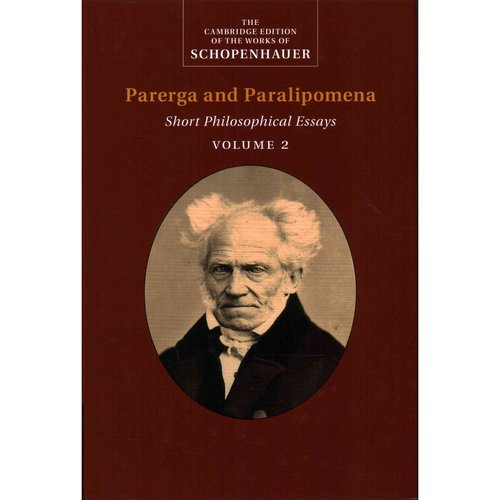 essays from the edge parerga and paralipomena