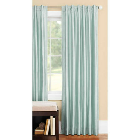 Better homes and gardens blackout thermal faux silk back Better homes and gardens valances for small windows