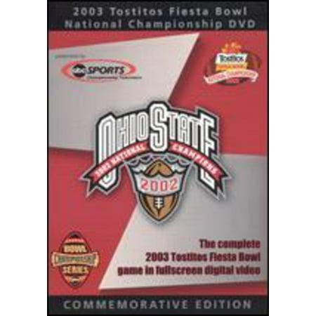 2003 Fiesta Bowl Ohio (DVD)](Fiesta Halloween Hd)