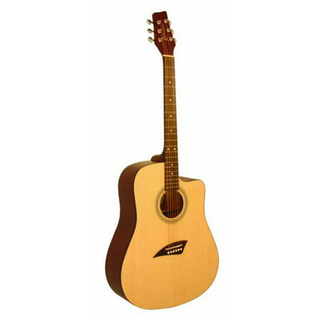 Kona K1 Series Acoustic Dreadnought Cutaway (Best Acoustic Guitar For 500 600 Dollars)