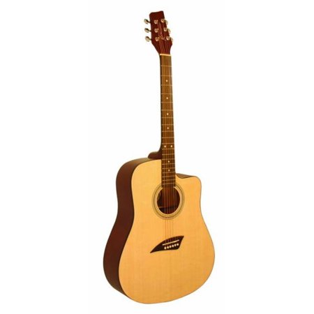 - Kona K1 Series Acoustic Dreadnought Cutaway Guitar