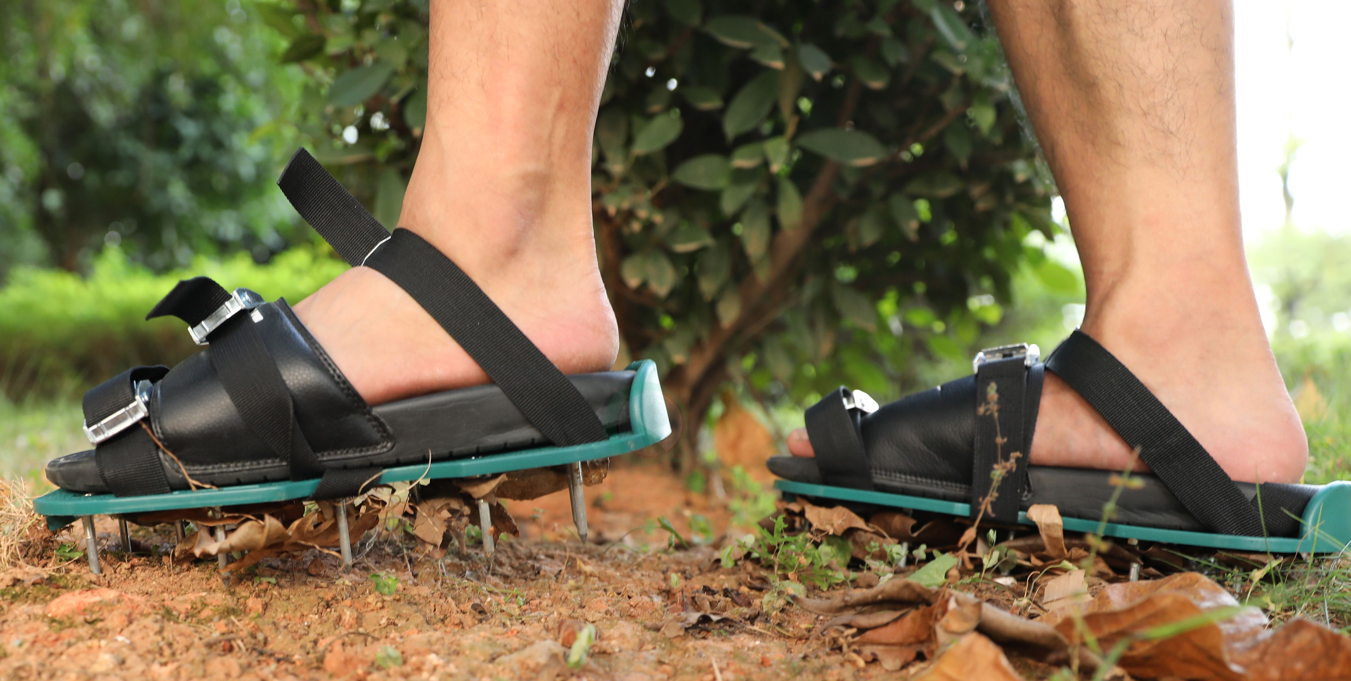 Lawn And Garden Aerator Spike Shoe