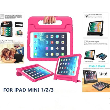 Shockproof Handle Stand Kids Case Protective Cover For Apple iPad Mini 1/2/3