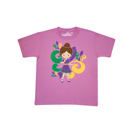 Mardi Gras Girl Youth T-Shirt - Mardi Gras Clothing Store