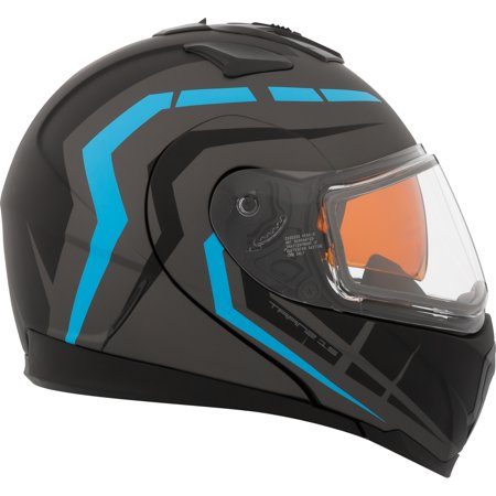 CKX Scorpion Tranz 1.5 RSV Modular Helmet, Winter Double Shield