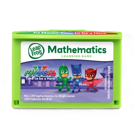LeapFrog LeapPad PJ Masks Time to Be a Hero Learning Game