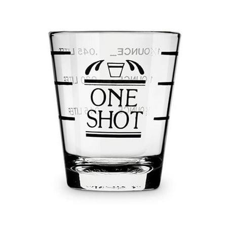Bullseye: Measured Shot Glass, bulk (Measuring Shot Glass)