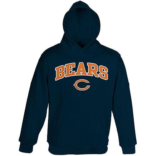 Nfl Boys' Chicago Bears  Fleece Hoodie