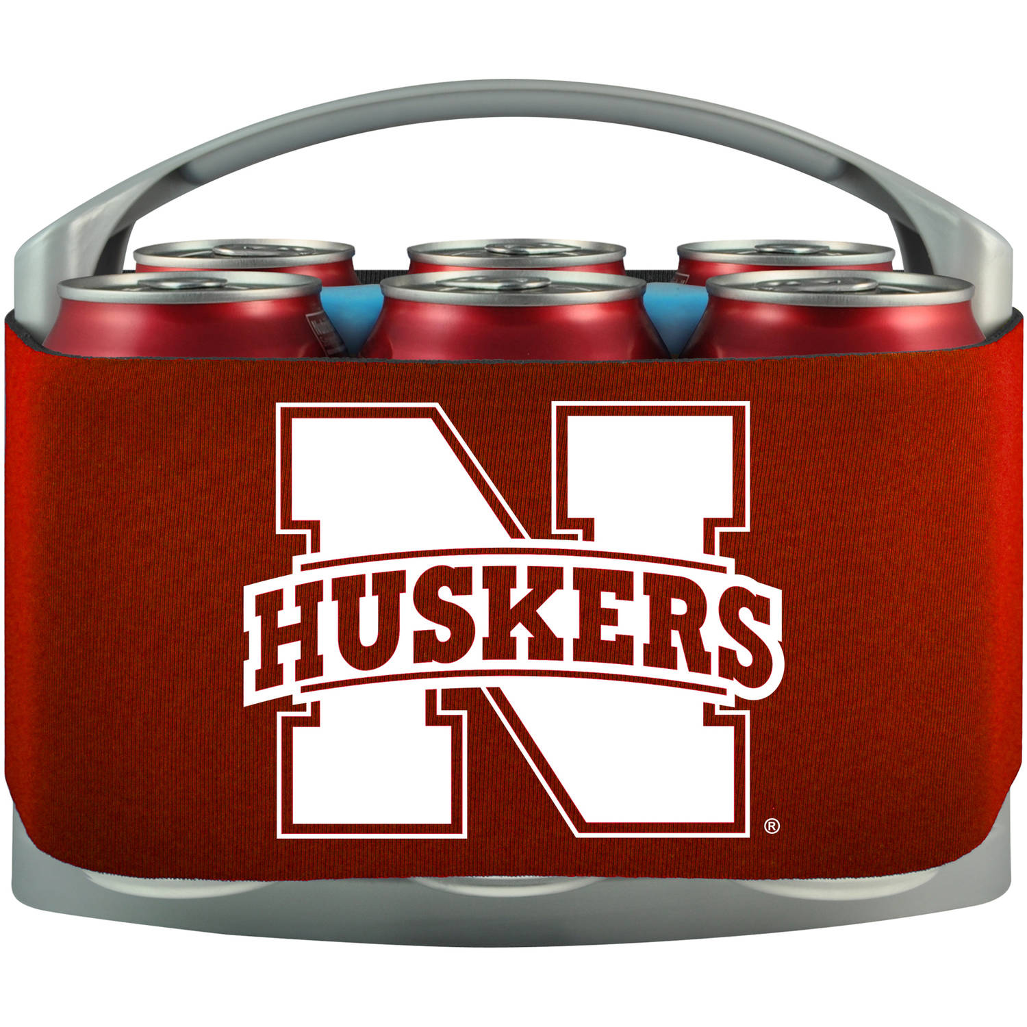 NCAA Nebraska Cornhuskers Cool 6 Cooler