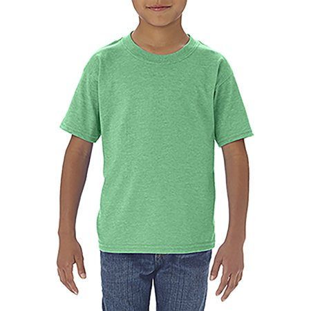 Branded Gildan Toddler Softstyle 45 oz T-Shirt - HTHR IRISH GREEN - 3T (Instant Saving 5% & more on min covid 19 (One Christian Toddler Shirt coronavirus)