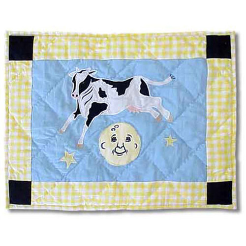 Patch Magic Hey Diddle Diddle Cotton Boudoir/Breakfast Pillow