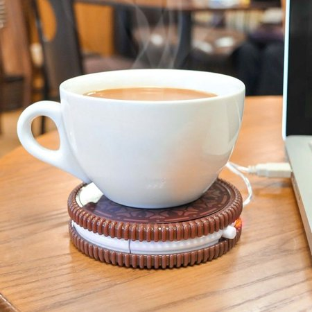 Hot Cookie USB Cup Warmer - Keep Your Hot Beverage Warm With This Hot Cookie