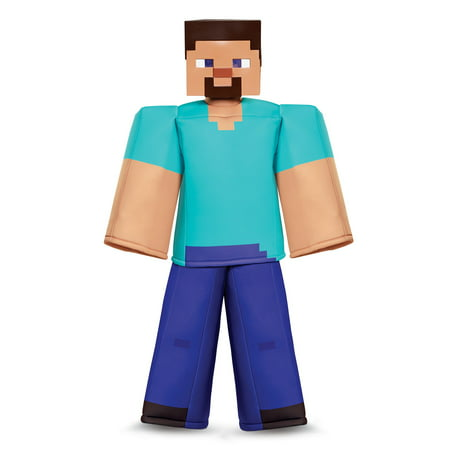 Minecraft Steve Halloween Costume (Minecraft Steve Prestige Child Halloween)
