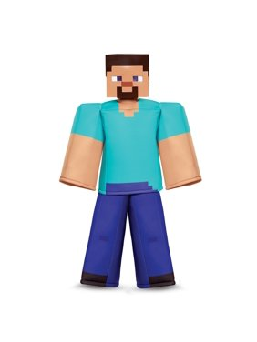Minecraft Steve Prestige Child Halloween Costume