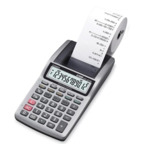 Casio Portable Printing Calculator 12 Character[s] Lcd Power Adapter, Battery Powered... by Casio