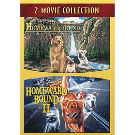 Homeward Bound: The Incredible Journey / Homeward Bound II: Lost San Francisco (DVD) - Parade Halloween San Francisco