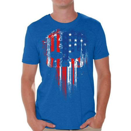 Patriotic Tee Shirts (Awkward Styles American Flag Shirts for Men USA Shirt Men's Patriotic Outfit USA Flag T Shirts 4th of July Tshirt Tops Independence Day Gifts USA Tee Shirts for)
