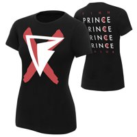 """Official WWE Authentic Finn Balor """"Prince"""" Women's  T-Shirt Black Small"""