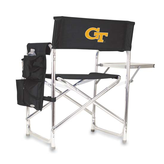 Georgia Tech Sports Chair (Black)