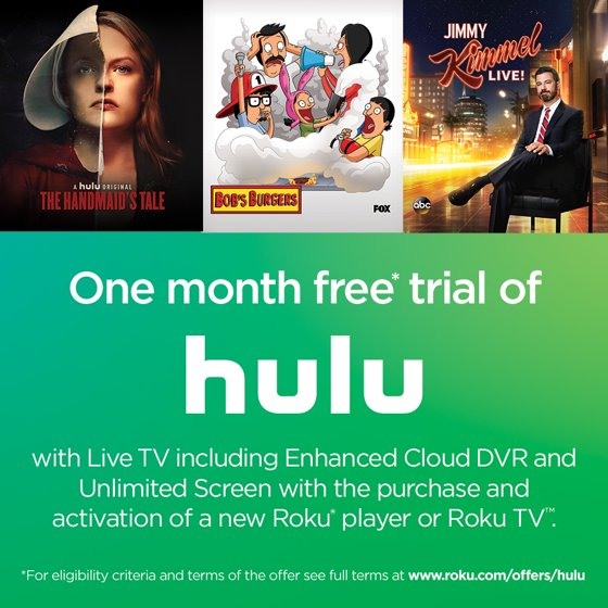 Roku Ultra 4K including Enhanced Cloud DVR and Unlimited