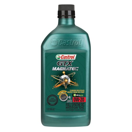 Castrol Gtx Magnatec 0w 20 Full Synthetic Motor Oil 1 Qt