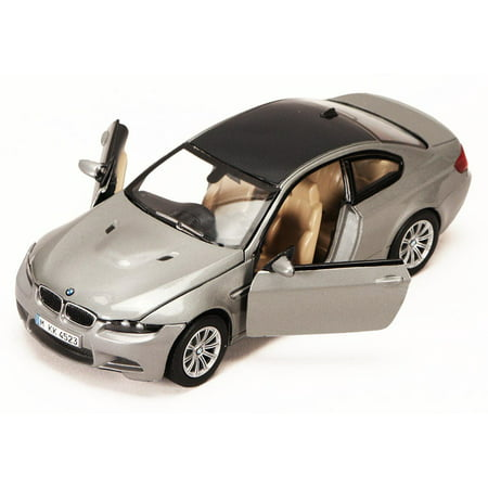 BMW M3 Coupe, Silver - Motormax 73347 -1/24 scale Diecast Model Toy Car (Bmw M3 Coupe Review)
