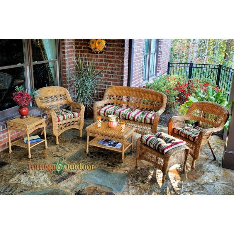 Tortuga Portside 6 Piece Outdoor Sofa Set