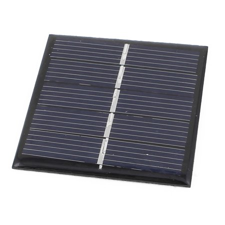 2.5V 0.42W DIY Polycrystallinesilicon Solar Panel Cell Battery Charger