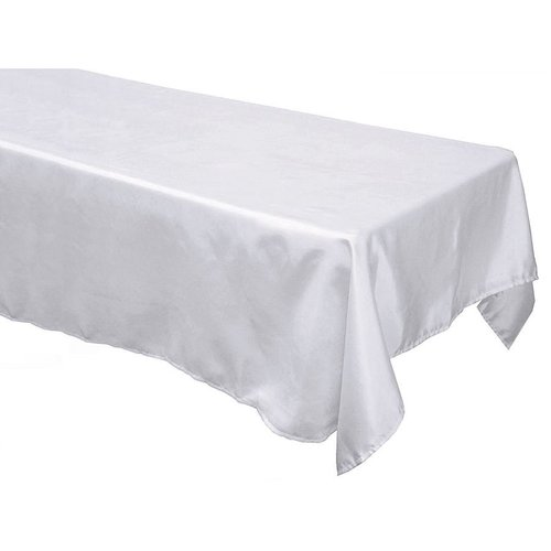 60x126 In Rectangle Satin Tablecloth
