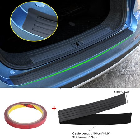 Car Rear Bumper Sill Protector Plate Cover Guard Moulding Trim For Audi VW (Bumper Cover Car)