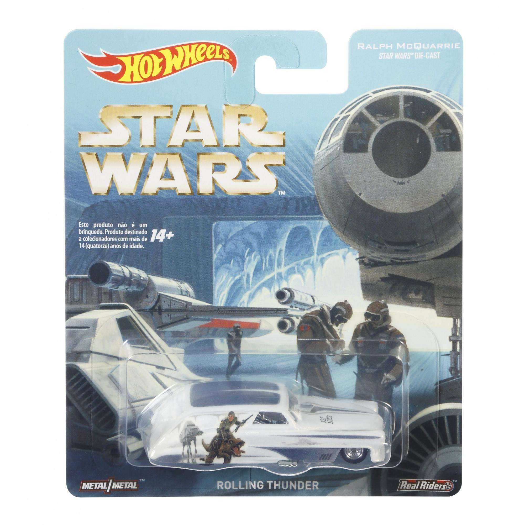 Hot Wheels Cultura Pop Star Wars Rolling Thunder Real Riders!!!