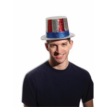 HAT-GLITTER UNCLE SAM (Uncle Sam Party)