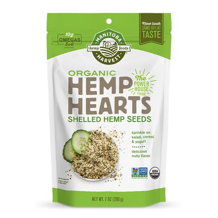 Manitoba Harvest Hemp Hearts Raw Shelled Hemp Seeds Organic, 12.0