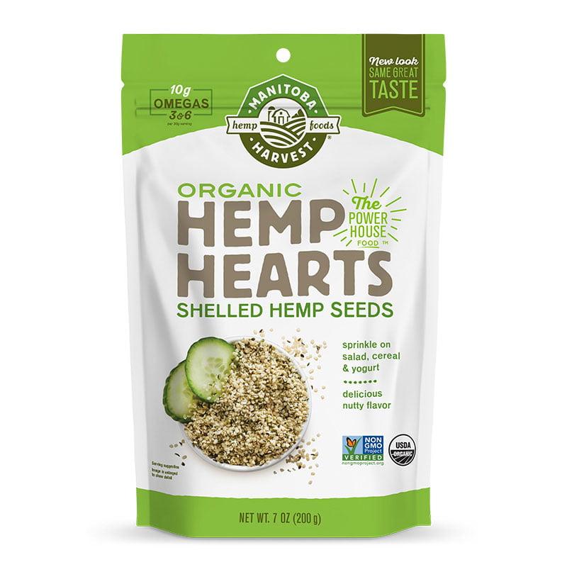 Manitoba Harvest Organic Hemp Heart Seeds, 12.0 Oz