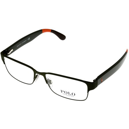 Polo Ralph Lauren Prescription Eyewear Frames Men Rectangular Black ...