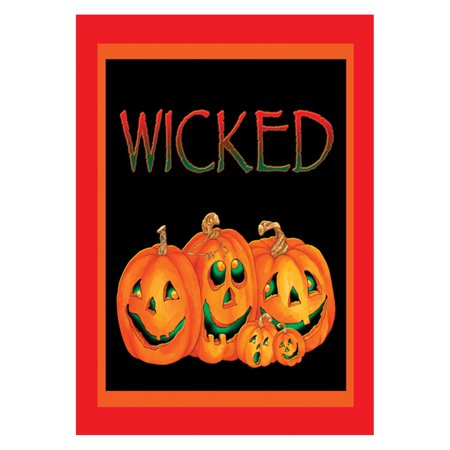 Toland Home Garden Wicked Double Sided Flag