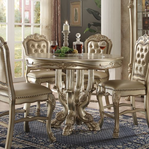 Acme Dresden Counter Height Dining Table