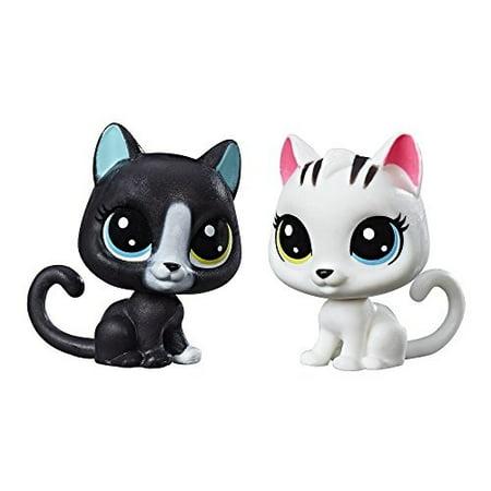 littlest pet shop black & white kitten bffs ()