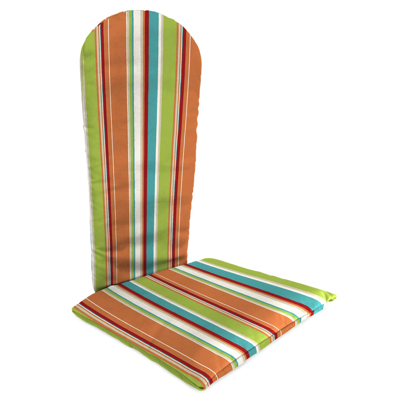 Jordan Manufacturing Knife Edge Outdoor Adirondack Chair Cushion - Covert Breeze