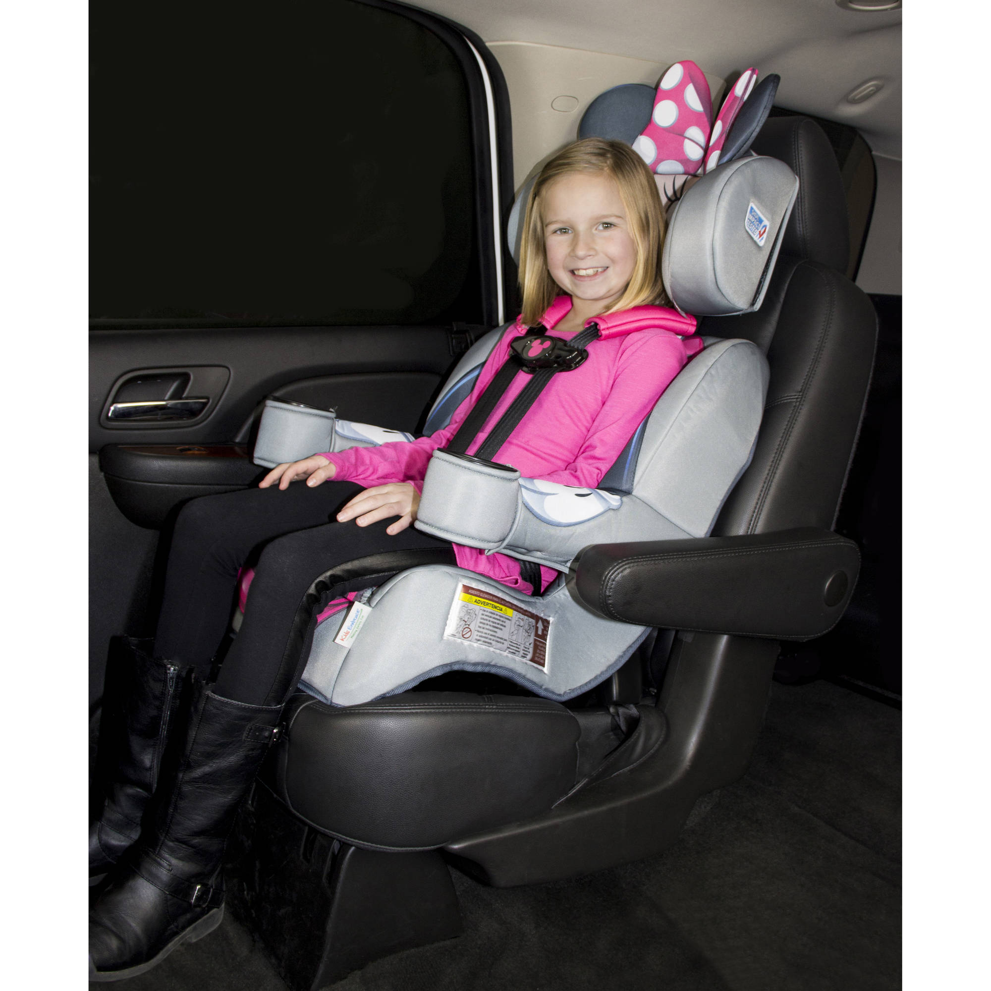 Kidsembrace Combination Booster Car Seat Disney Minnie Mouse