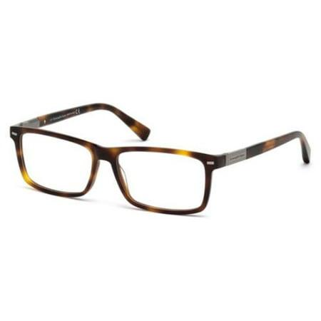 ERMENEGILDO ZEGNA Eyeglasses EZ5046 052 Dark Havana 57MM](Zinna Glasses)