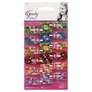 (2 Pack) Goody Snap Clips, 12 count