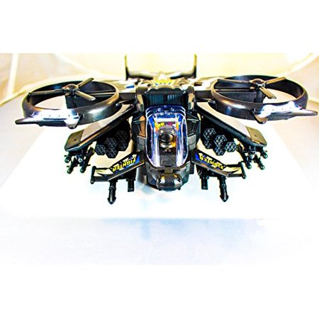 Futuristic Military Army Helicopter Plane JetFighter Toy, with Flashing Lights and Sound, Bump and Go Action for $<!---->