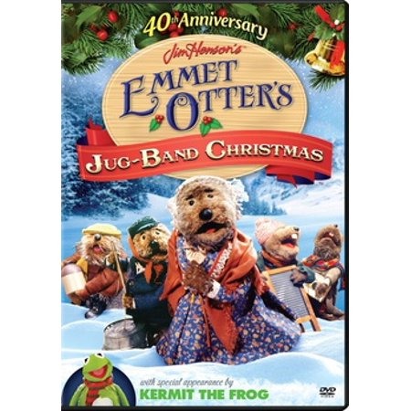 Emmet Otters Jug Band Christmas Book.Emmet Otter S Jug Band Christmas 40th Anniversary Dvd