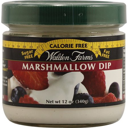 Walden Farms Marshmallow Dips For Fruit Jar 12 Ounce By Walden Farms - Dip For Crackers