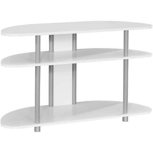 Monarch Specialties MONARCH - TV STAND - GREY WITH SILVER...